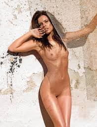 naked woman standing up